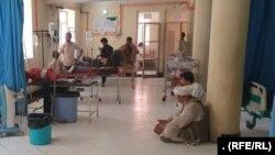 آرشیف٬ یکی از شفاخانهها در افغانستان