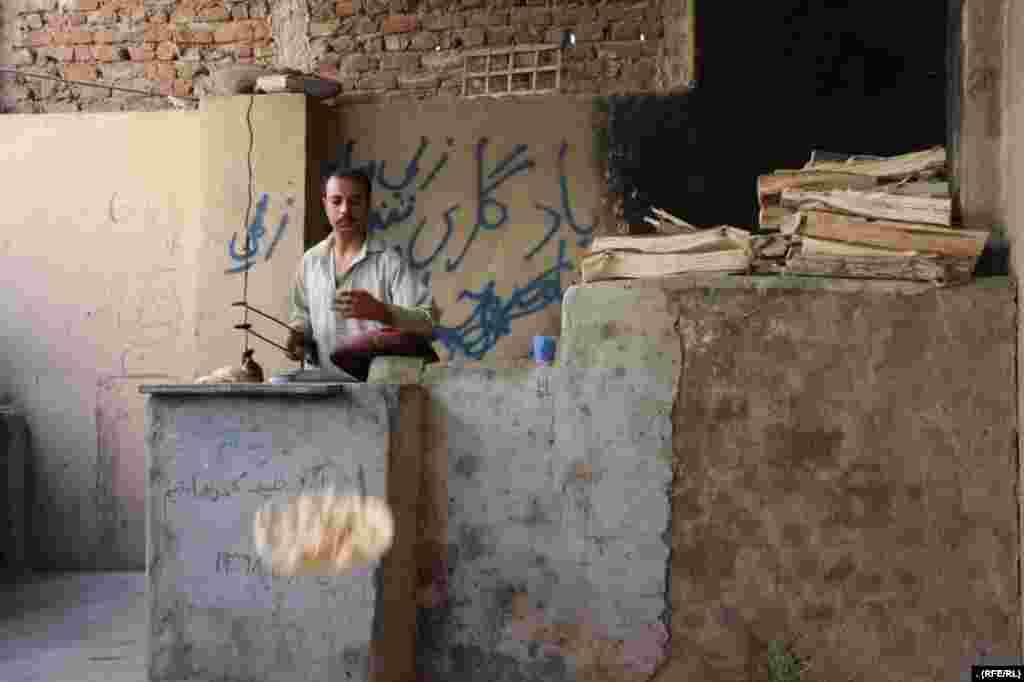 یک کارخانه نانوایی در یکی از مراکز ترک اعتیاد در ولایت هرات