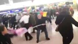 В аэропорту Ганновера подрались курды и турки