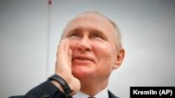 Politicianul Algirdas Paleckis a fost condamnat pentru spionaj în favoarea Rusiei. Imagine generică cu președintele rus Vladimir Putin, 25 iulie 2021.