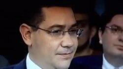 Victor Ponta și imnul național al României