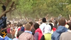 Migrants Teargassed At Greek-Macedonian Border