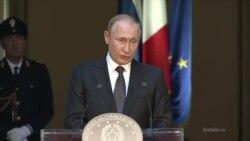 Владимир Путин об украинском вопросе