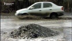 Spring Reveals Siberia's Rotten Roads