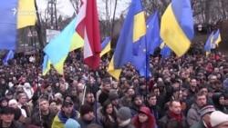 Saakashvili Rallies Supporters In Kyiv