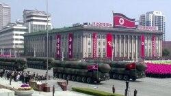 Северная Корея продемонстрировала военную технику