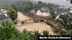 Posledice poplava u gradu Schuldu, u Nemačkoj, 16. jul 2021.