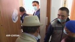 Дворников в Нур-Султане прививали в кабинете директора: как это было