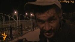 Бездомный уличный художник