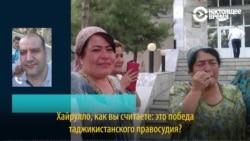 Хайрулло Мирсаидова дал интервью Настоящему Времени после выхода из тюрьмы