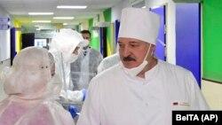 Аляксандар Лукашэнка, сьнежань 2020