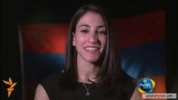 Հայաստանը ներկայացնող մարմնամարզուհի Հուրի Գեբեշյանն աչքի ընկավ զուգափայտերի վրա նոր հնարքով
