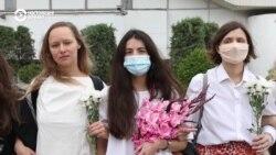 «Прекратите нас бить!»: женщины Беларуси выступили против насилия (видео)