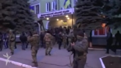 Armed Separatists Assault, Capture Police Station In Kramatorsk, Ukraine