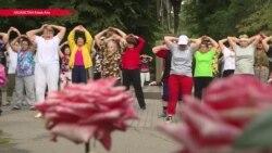 Массовый спорт объединил пенсионеров Алматы
