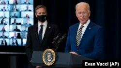 ԱՄՆ նախագահ Ջո Բայդեն և պետքարտուղար Էնթոնի Բլինքեն, արխիվ