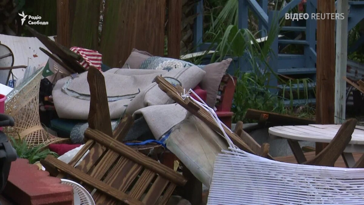 США: Последствия мощнейшего шторма во Флориде за более 80 лет – видео