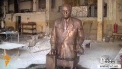 Միկոյանի բրոնզե արձանը ձուլարանից անհետ կորավ