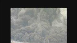 Камбар - Ата: Тоо жарылып көл болду