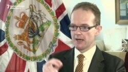 U.K. Envoy Sees 'Long' U.S., NATO Commitment In Afghanistan