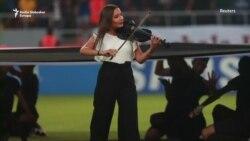 Violinistica na utakmici u Iraku