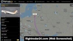 Եվրոպական ավիաընկերությունների ինքնաթիռները շրջանցում են Բելառուսի օդային տարածքը, 25 մայիսի, 2021թ.