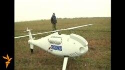 Беспилотник ОБСЕ на востоке Украины