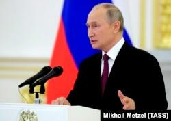 Rus prezidenti Wladimir Putin
