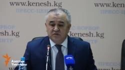 Өмүрбек Текебаев Атамбаевди айыптады
