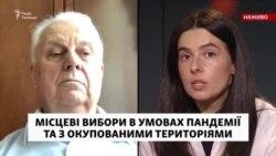Леонід Кравчук про вибори на Донбасі
