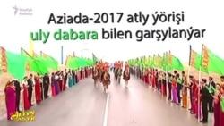 Atly ýöriş ýaşaýjylary 'janly diwara' öwürýär