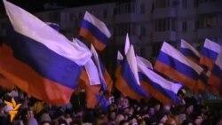 Россияпараст қримликлар референдум натижасидан хурсанд