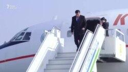 Жээнбеков прибыл с визитом в Узбекистан