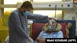 آرشیف، بیمار کرونا در افغانستان