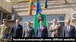 Участь у відкритті взяли також представники командування Операції Об'єднаних сил (фото ООС)