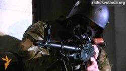 БТРи і автоматники провели вишкіл із захисту Верховної Ради
