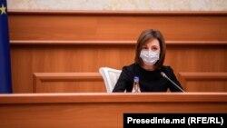 Președinta Maia Sandu la ședința Consiliului Suprem de Securitate, 21 ianuarie, 2021