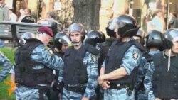 «Беркут» побив прихильників Тимошенко і зніс намети