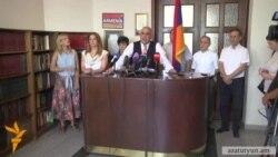 «Ժառանգությունը» Հայաստանի տարբեր քաղաքներում բողոքի ցույցեր կանցկացնի