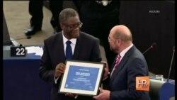 Европарламент вручил премию Сахарова гинекологу из Конго