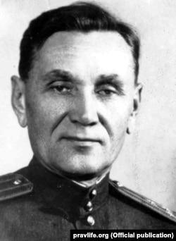 Полковник НКДБ (на час тих подій був підполковником НКВС) Сергій Даниленко-Карін