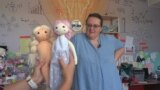 Grab - a communication expert in Transylvania started her own business making dolls for kids.