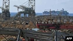 Լիբանան - Բեյրութի նավահանգիստը օգոստոսի 4-ի պայթյունից հետո