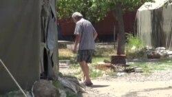 Tbilisidə kəskin isti evsizlərin vəziyyətini daha da ağırlaşdırıb