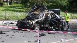 Полковник розвідки загинув внаслідок підриву машини у Києві (відео)