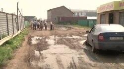 В поселке Темиржол просят проложить асфальт