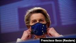Președinta Comisiei Europene, Ursula von der Leyen.