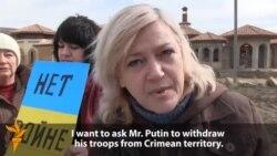Protest krimskih žena za mir