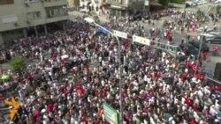 Протиурядова демонстрація в Скоп'є