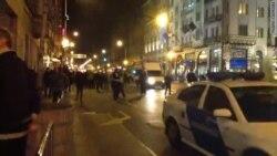 Акция протеста против визита Путина в Венгрию
